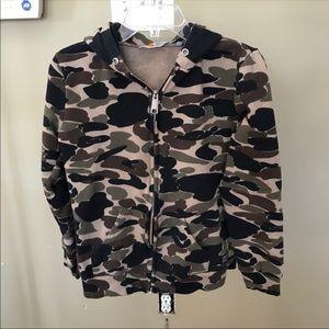 Carhartt Men's Camo Hooded Sweatshirt